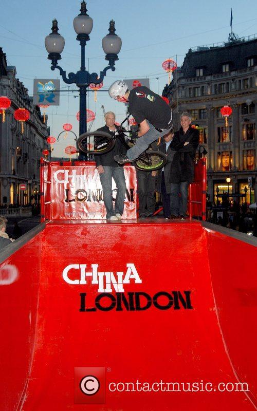 Oxford Street Chinese New Year Lanterns - Switching...