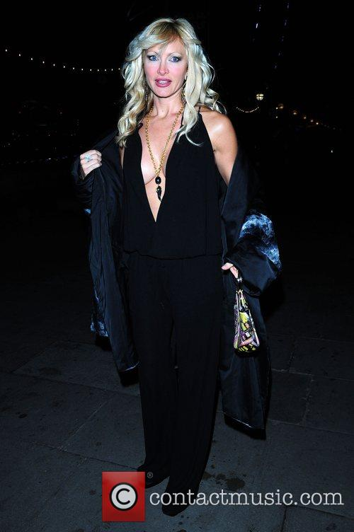 Caprice Bourret and Guest Chinese New Year party...