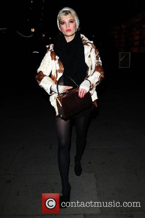 Pixie Geldof  Chinese New Year party held...