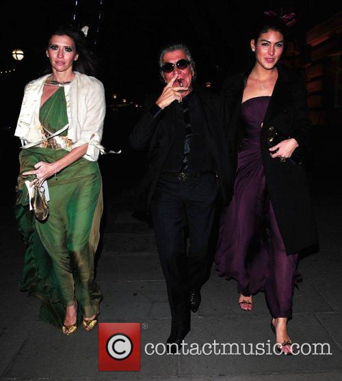 Roberto Cavalli and Guests Chinese New Year party...