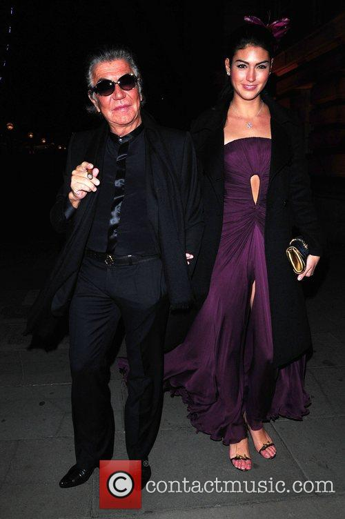 Roberto Cavalli and Guest Chinese New Year party...