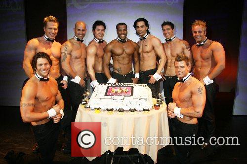 Chippendales Chippendales celebrate their 2000th performance at the...