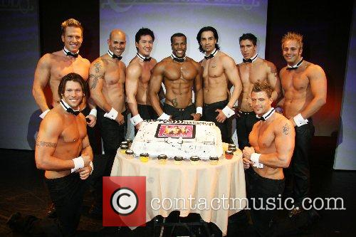 Chippendales celebrate their 2000th performance at the Rio...