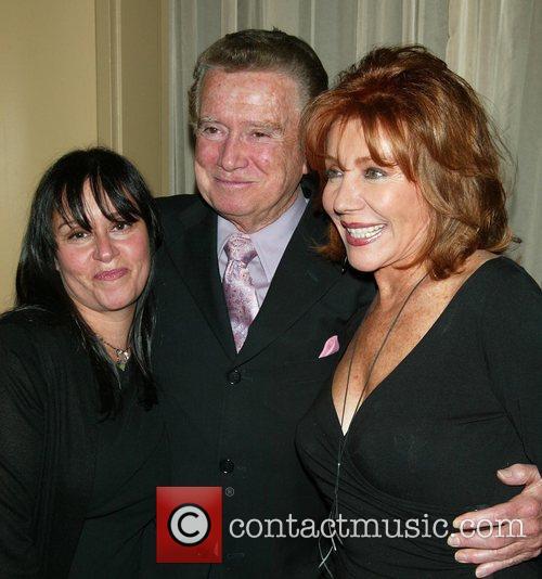 Lisa Mordente, Regis Philbin & Joy Philbin...