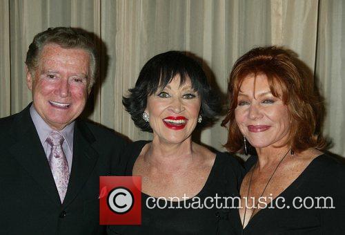 Regis Philbin, Chita Rivera & Joy Philbin...