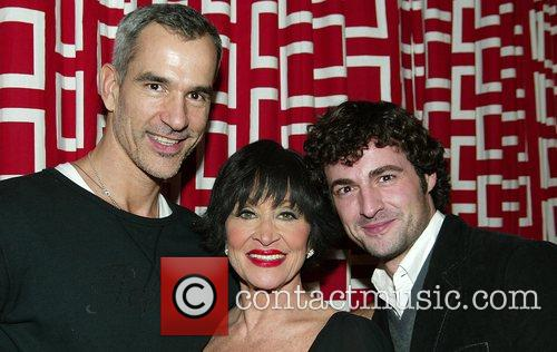 Jerry Mitchell, Chita Rivera and Max Von Essen