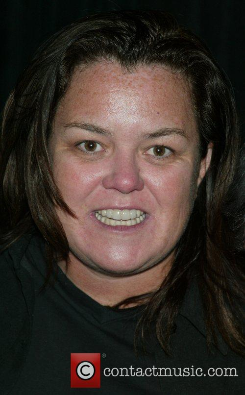 Rosie O'Donnell backstage after Chita Rivera's performance of...