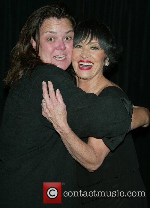 Rosie O'Donnell & Chita Rivera backstage after Chita...