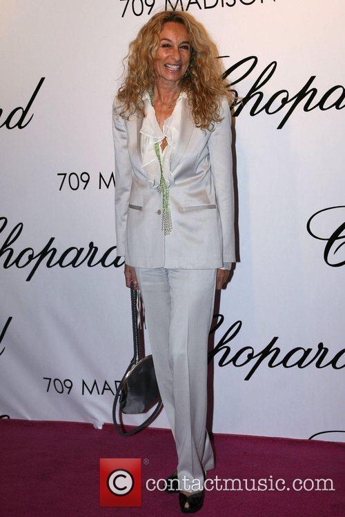 Ann Dexter Jones Chopard Flagship Store Opening Party...