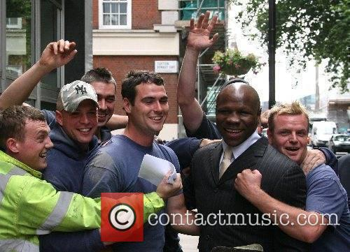 EUBANK STIRS UP A STORM IN COURT...