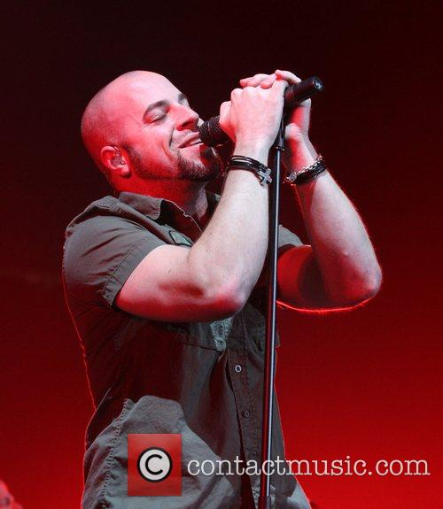 Chris Daughtry performing live in Concert at Prudential...