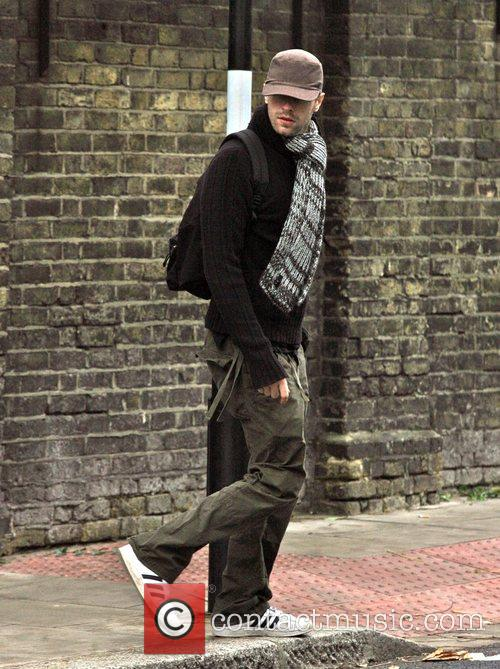 Goes for a walk near his home. Chris...