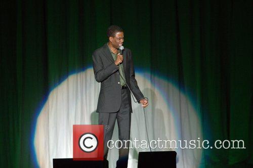 Comedian Chris Rock performing at Chumash Casino Resort