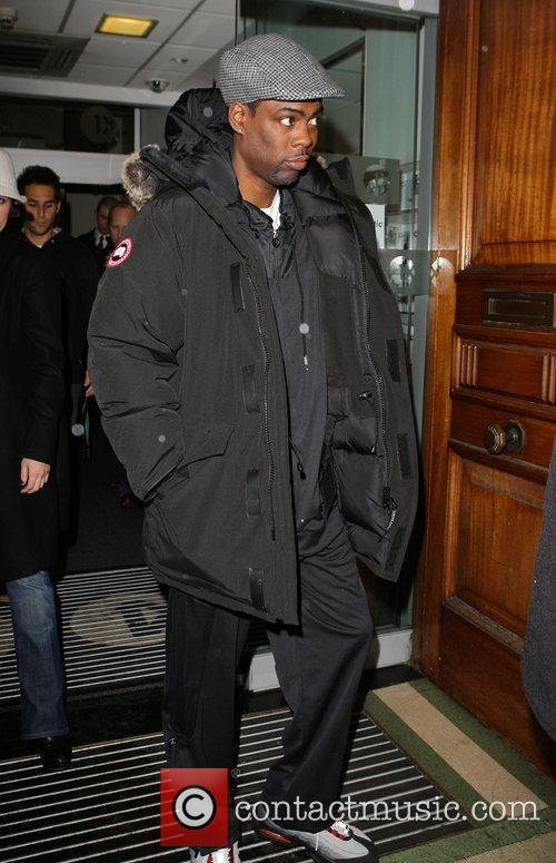 Chris Rock leaving Radio One studios