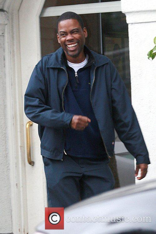 Chris Rock on the film set for his...