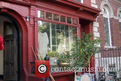 Storefront of Helena Christensen's new shop 'Christensen and...