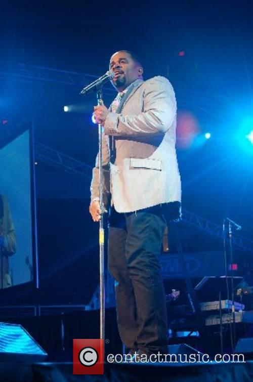 Byron Cage Gospel Recording artist performs and presents...