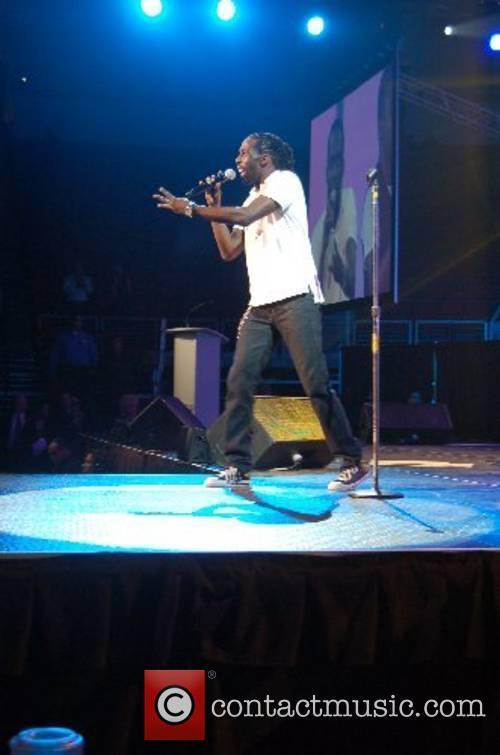 Tye Tribbett performs at the Christian Music Awards...