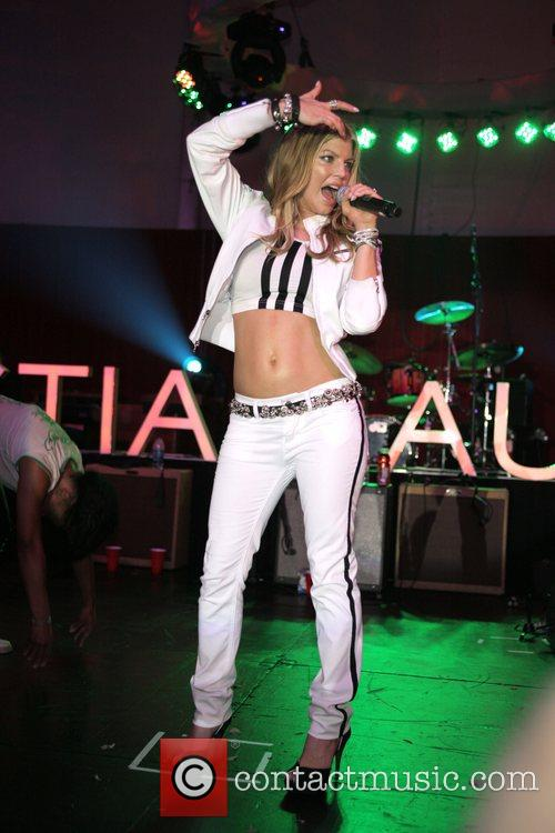 Fergie aka Stacy Ferguson Christian Audigier 50th birthday...