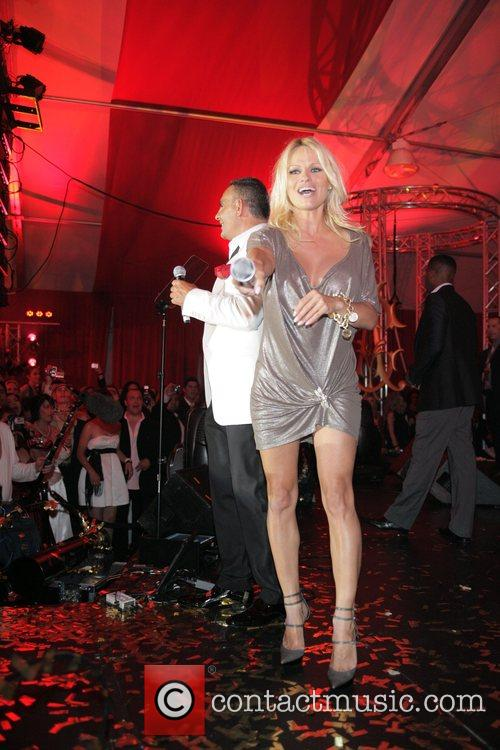 Pamela Anderson and Christian Audigier 2