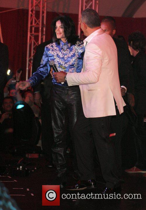 Christian Audigier and Michael Jackson Christian Audigier 50th...