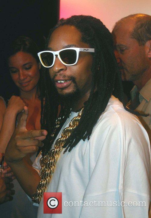 Lil Jon Mercedes-Benz Fashion Week 2008 at Smashbox...