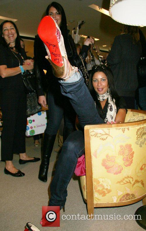Fan the shoe designer of the stars Christian...