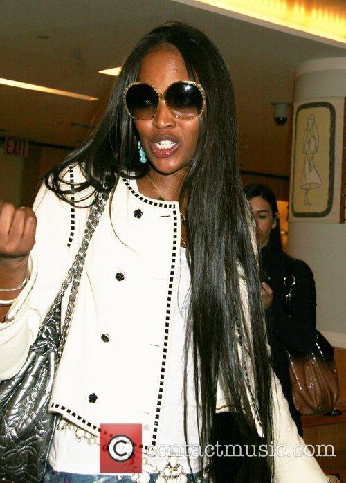 Naomi Campbell shoe designer of the stars Christian...
