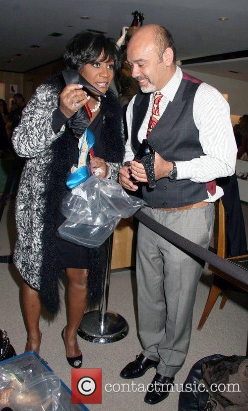 Patti Labelle and Christian Louboutin