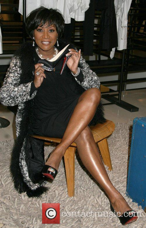 Patti LaBelle shoe designer of the stars Christian...