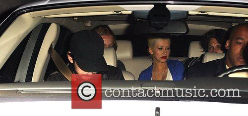 Christina Aguilera and Jordan Bratman 1