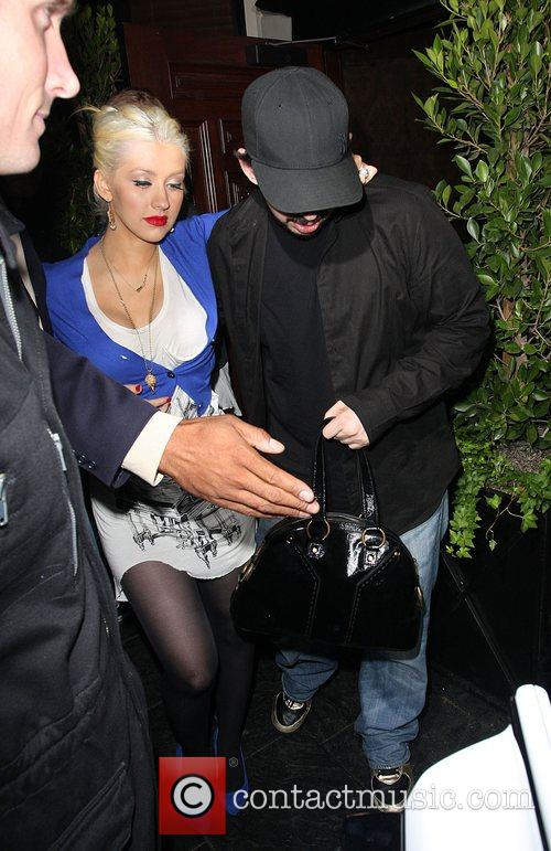 Christina Aguilera and Jordan Bratman 2