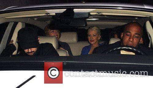 Christina Aguilera and Jordan Bratman 9