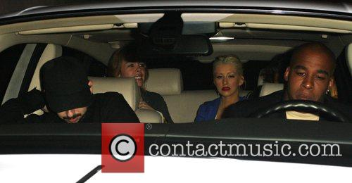 Christina Aguilera and Jordan Bratman 10