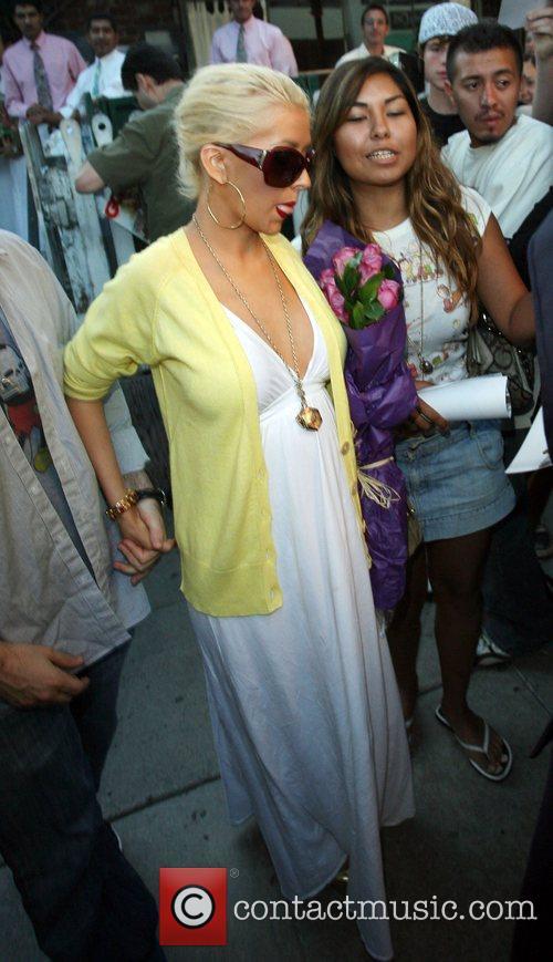 Christina Aguilera, Jordan and Jordan Bratman 11