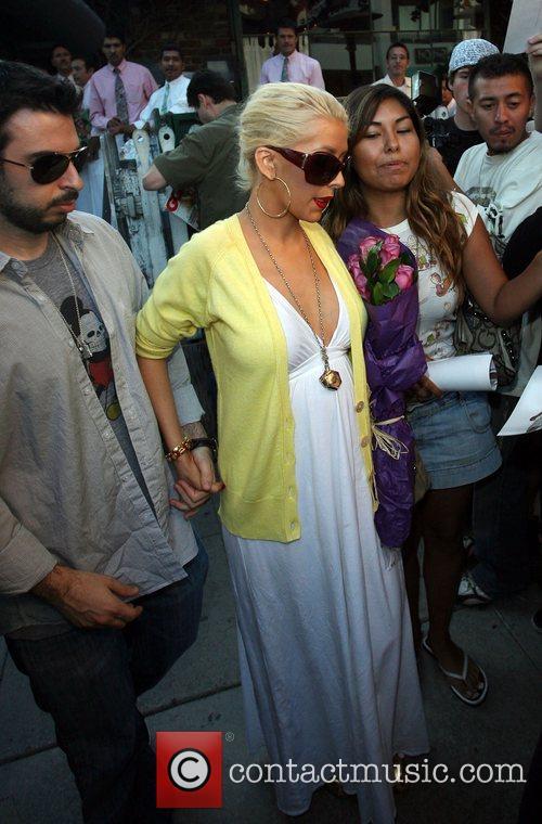Christina Aguilera, Jordan and Jordan Bratman 9