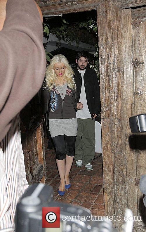 Christina Aguilera and Jordan Bratman 6