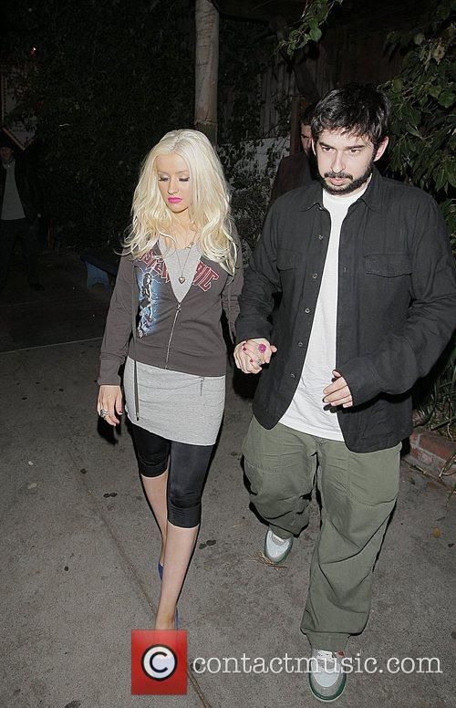 Christina Aguilera and Jordan Bratman 4