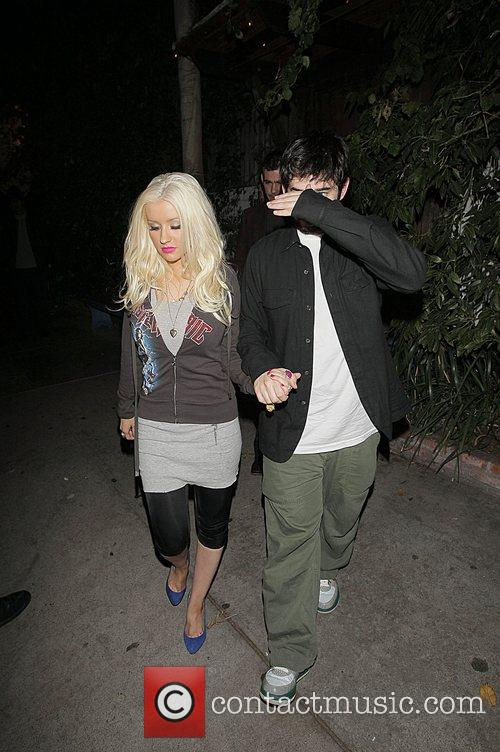 Christina Aguilera and Jordan Bratman 8