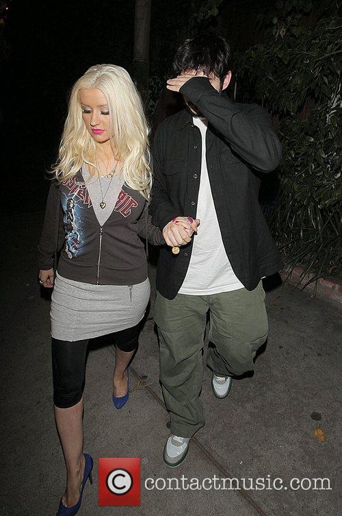 Christina Aguilera and Jordan Bratman 7
