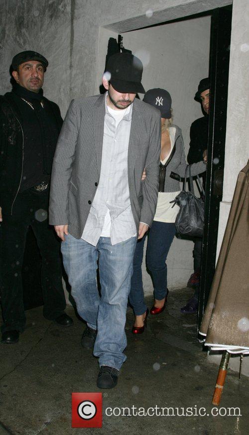 Christina Aguilera and John Bratman 3
