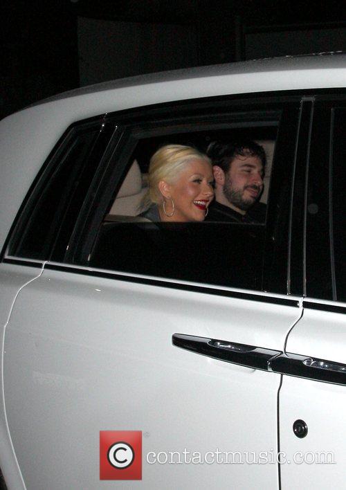 Christina Aguilera and Jordan Bratman 5