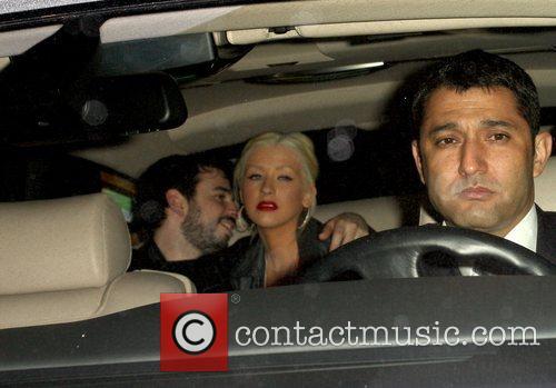 Christina Aguilera and Jordan Bratman 2