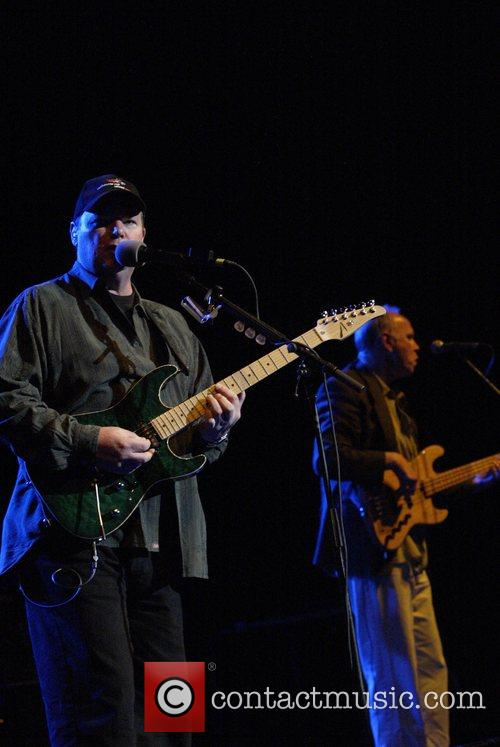 Christopher Cross and his band performing live in...