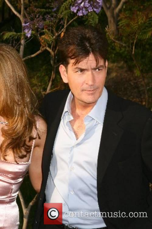 Charlie Sheen 2007 Chrysalis Butterfly Ball held at...