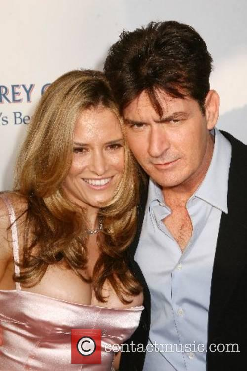 Brooke Wolofsky and Charlie Sheen  2007 Chrysalis...