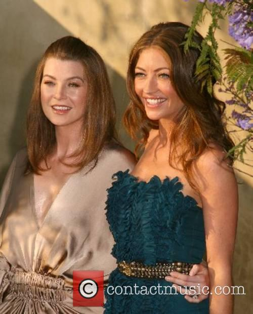 Ellen Pompeo and Rebecca Gayheart 2007 Chrysalis Butterfly...