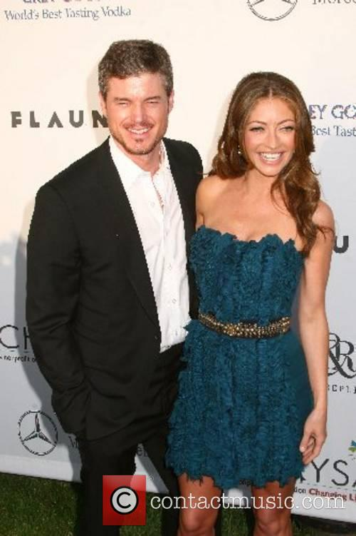 Eric Dane and Rebecca Gayheart 2007 Chrysalis Butterfly...