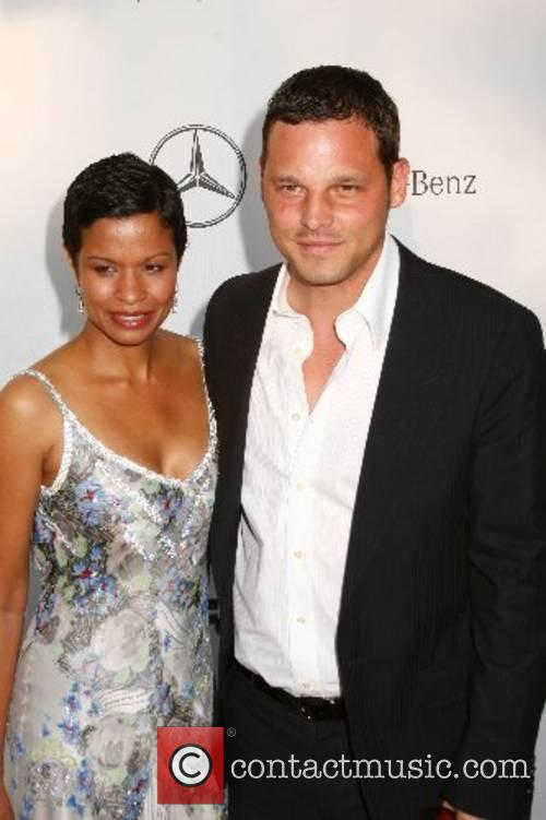 Justin Chambers and his wife Keisha Chambers 2007...