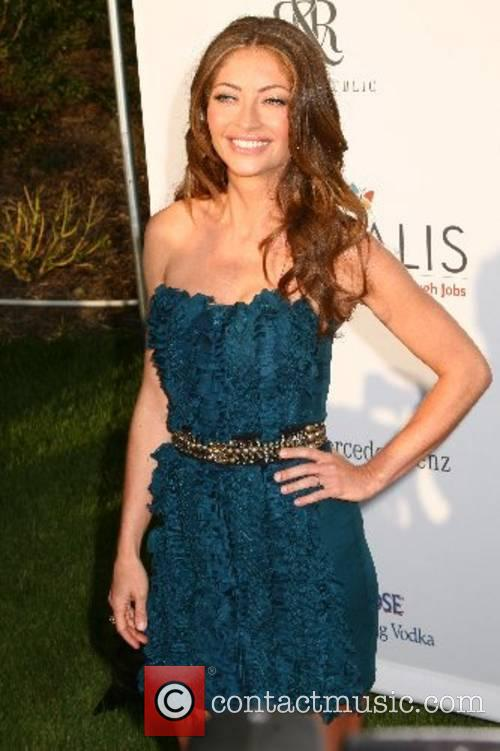 Rebecca Gayheart 2007 Chrysalis Butterfly Ball held at...